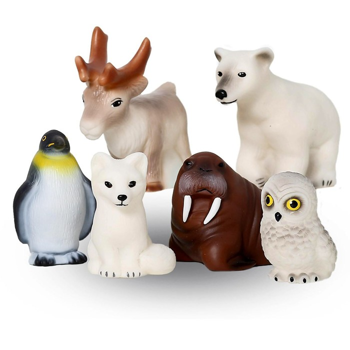 Набор «Животные Арктики и Антарктики» - фото 105536625