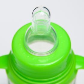 Подарочный детский набор «Лесная сказка»: бутылочки для кормления 150 и 250 мл, прямые, от 0 мес., цвет зелёный