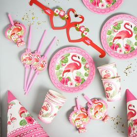 Набор для праздника «Фламинго», на 6 персон