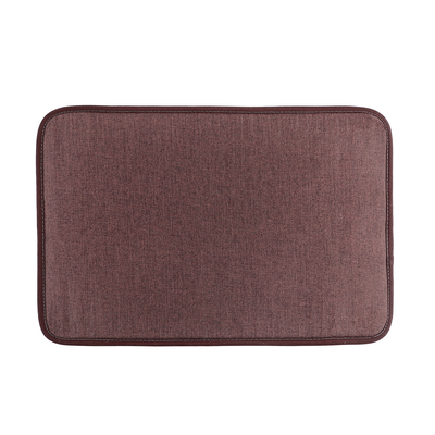 "Bath Mat 38 x 58 cm ""Len"", color brown"