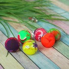 "Ball rubber ""Overflow"" 2.5 cm MIX color"