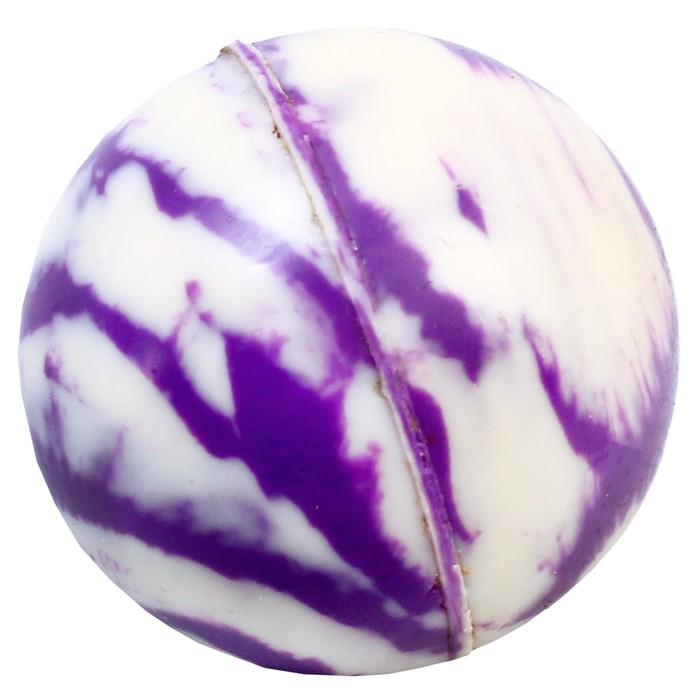 Мяч каучуковый «Перелив», 2,5 см, цвета МИКС