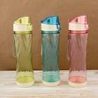 """Бутылка для воды """"Вихрь"""", 500 мл, микс, 7х7х24,5 см"""