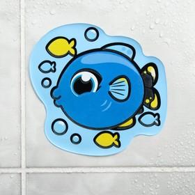 Наклейка для игры в ванной «Рыбка»