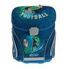 Ранец на замке Mag Taller J-flex 38*32*23 для мальчика Football, синий