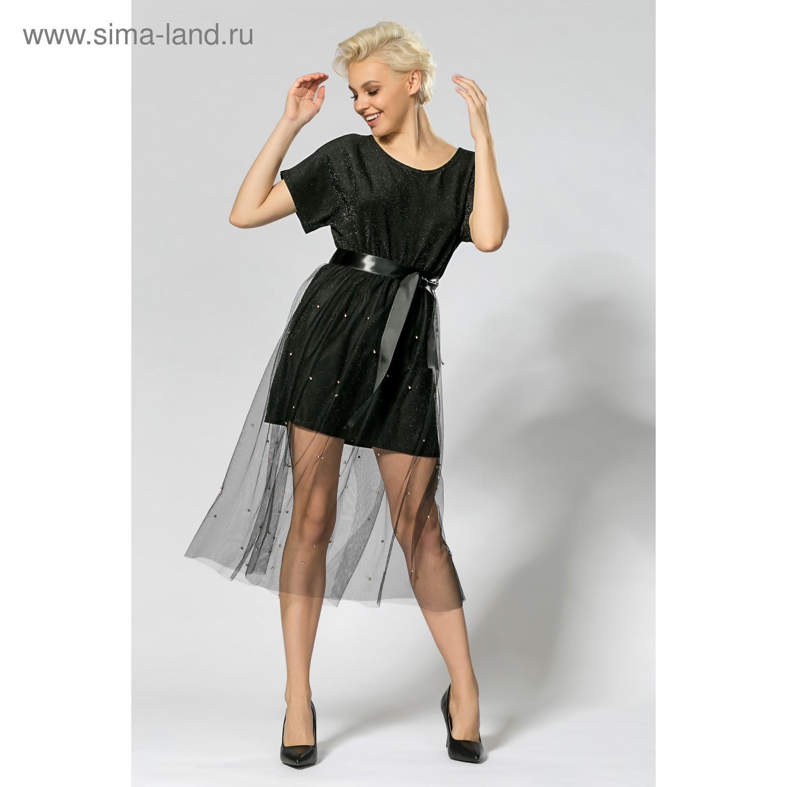 Платье люрекс с фатиновой юбкой 34b097392dda0