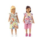 Игровой набор для кукольного домика «Две девочки»