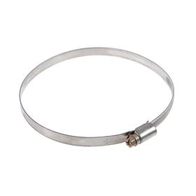 Хомут червячный TUNDRA krep W2, диаметр 100-120 мм, ширина 9 мм, нержавеющая сталь Ош