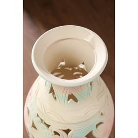 """Ваза напольная """"Юлия"""", резка, разноцветная, 63 см, керамика - фото 7307402"""