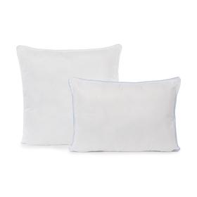 Подушка Лебяжий пух 70х70 см, полиэфирное волокно, микрофибра, п/э 100%