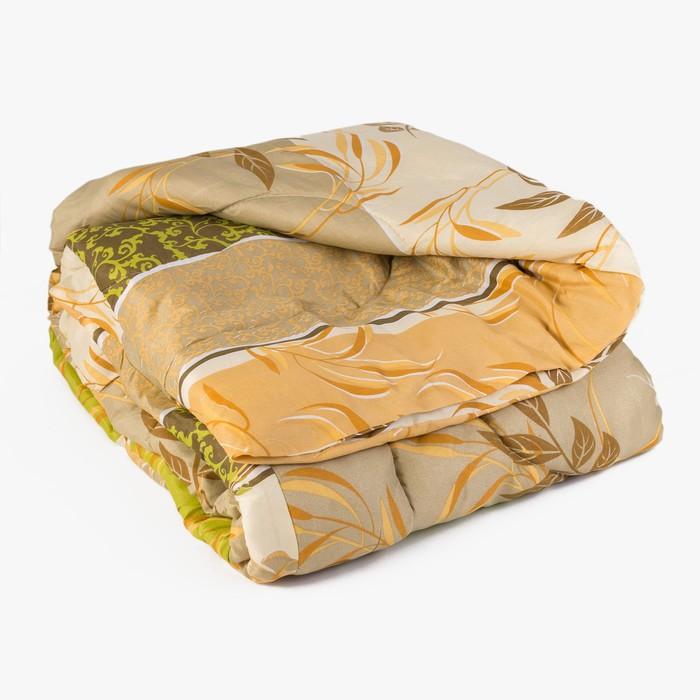 Одеяло, размер 140х205 см, цвет МИКС, синтепон - фото 61568