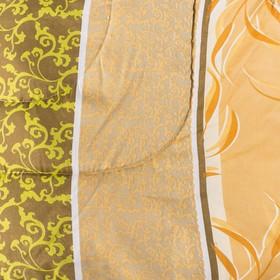 Одеяло, размер 140х205 см, цвет МИКС, синтепон - фото 61569