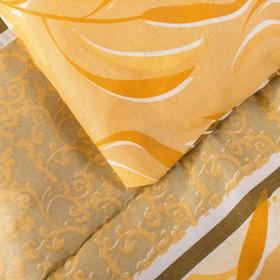 Одеяло, размер 140х205 см, цвет МИКС, синтепон - фото 61570