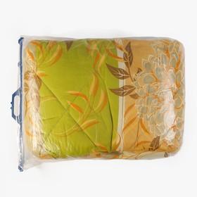 Одеяло, размер 140х205 см, цвет МИКС, синтепон - фото 61571