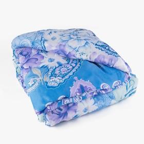 Одеяло, размер 140х205 см, цвет МИКС, синтепон - фото 61572