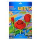 """Цветы из флисса """"Розы"""""""