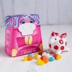 Набор «Единорог»: игрушка антистресс, конфеты 20 г