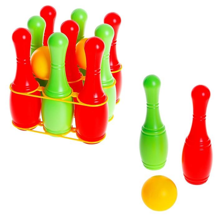 Набор кеглей с шарами