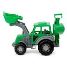 Трактор-экскаватор «Мастер», цвета МИКС - фото 105650044