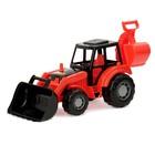 Трактор-экскаватор «Мастер», цвета МИКС - фото 105650047