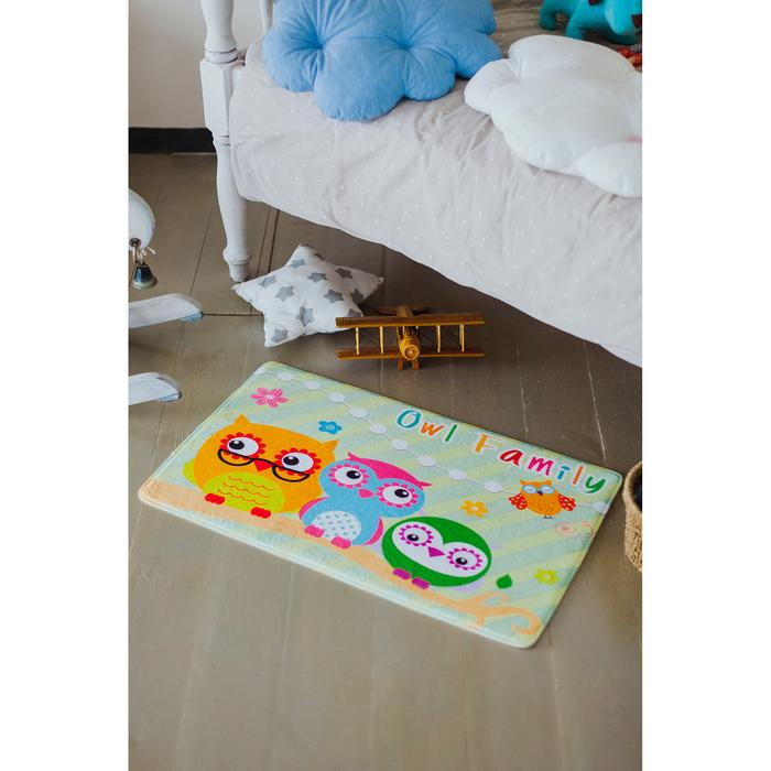 Коврик для дома «Семья», 45×75 см