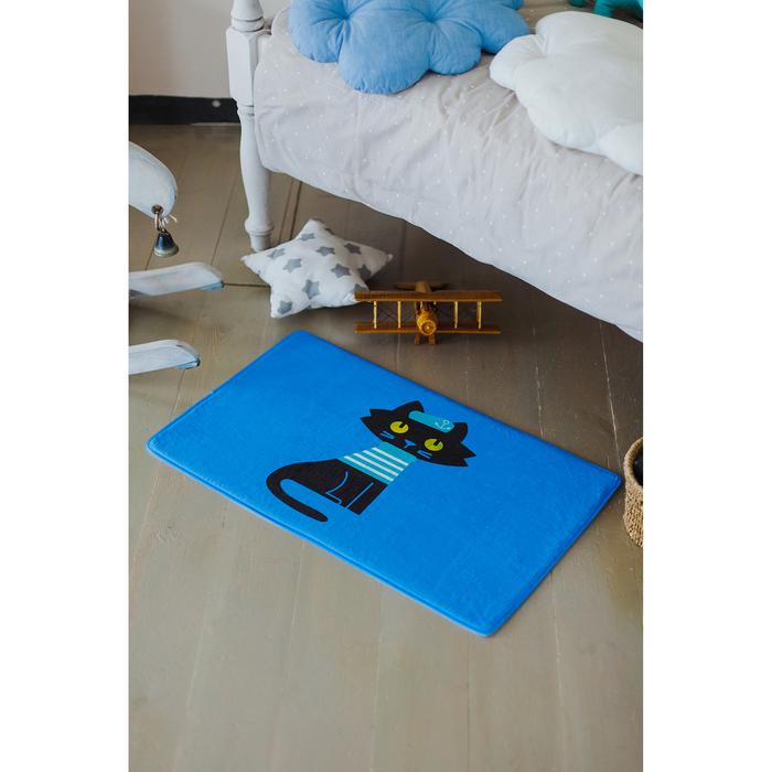 Коврик «Умный кот», 45×75 см