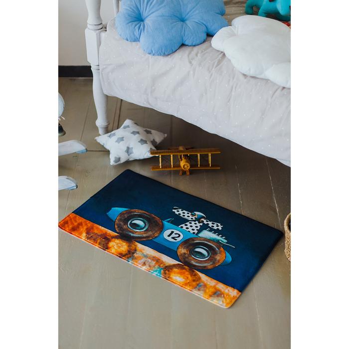 Коврик для дома «Гонщик», 45×75 см
