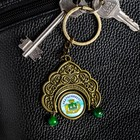 "Keychain in the shape of a kokoshnik ""Ekaterinburg"" (the Church on spilled Blood) 4.8 x 5 cm"