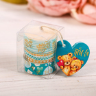 "The tea aroma-candles ""I Love you"", 3 PCs, 6 x 3.8 cm"