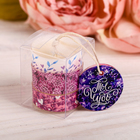 """The tea aroma-candles """"You are a miracle"""", 3 PCs, 6 x 3.8 cm"""