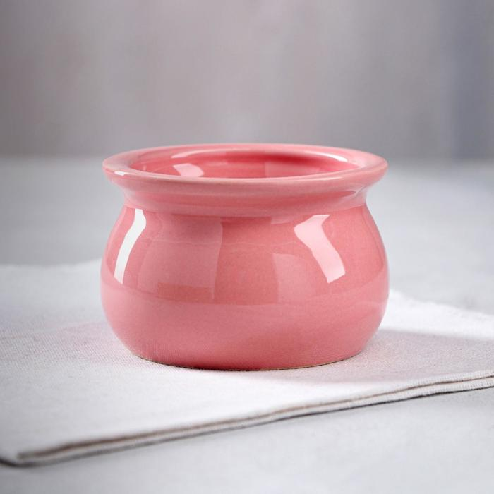 Форма для выпечки Рамекин, керамический, 0,25 л, розовый