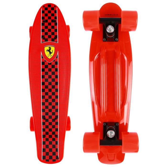 Пенни борд FERRARI 56,5х14,5 см, FBP4, колёса PU, ABEC 5, цвет красный