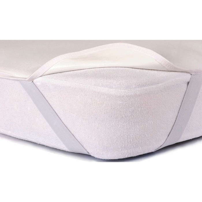 Наматрасник-простыня Flat с резинками, размер 90х195 см