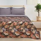 Покрывало гобеленовое Этель «Розы» 150×200 см, пл. 280 г/м², 30% хлопок, 70% п/э