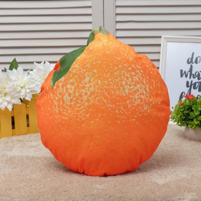 Подушка декоративная Этель «Апельсин», 38×44 см, 100% п/э