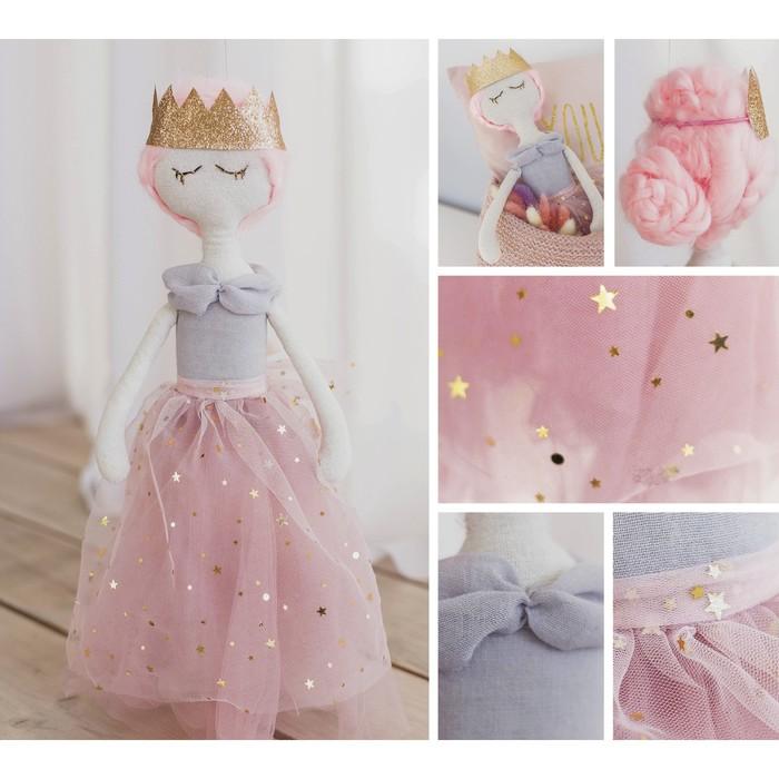Интерьерная кукла «Эни», набор для шитья, 18 × 22.5 × 2 см - фото 100523
