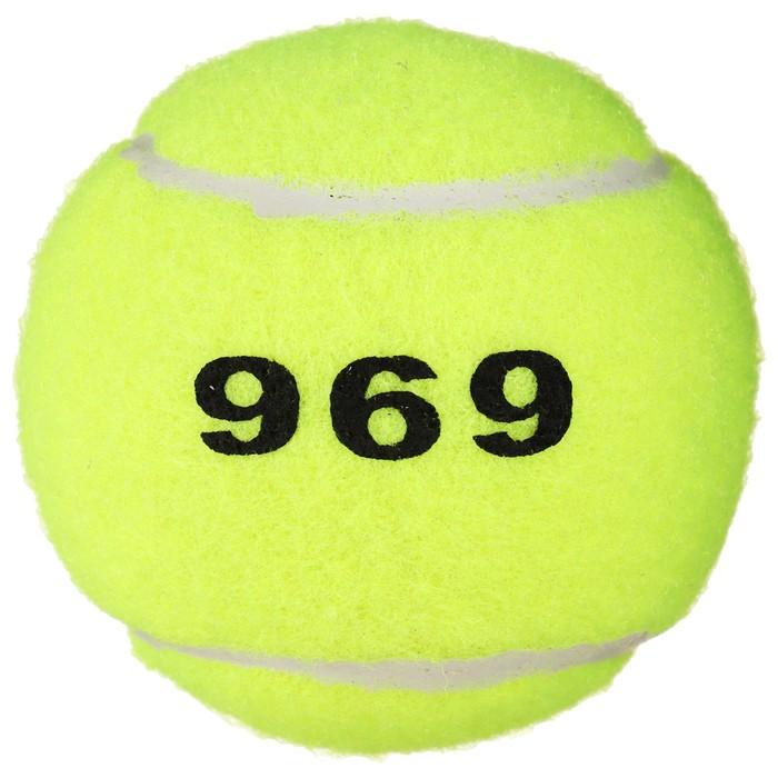 Мяч для большого тенниса №969, тренировочный