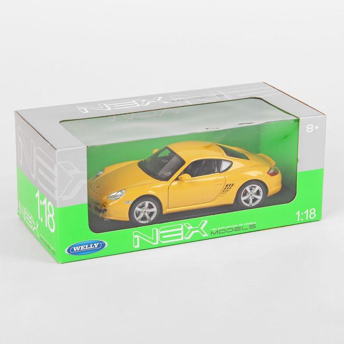 Модель машины Porsche Cayman, масштаб 1:34-39