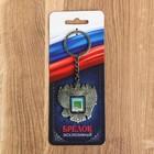 "Брелок в форме герба ""Владивосток"" (корабль) 4,6 х 5 см"