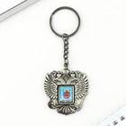 """Брелок в форме герба """"Санкт-Петербург"""" (Храм Спас-на-крови) 4,6 х 5 см"""