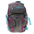 Рюкзак Across AC18-ER 40*30*15 серый/синий/бордовый