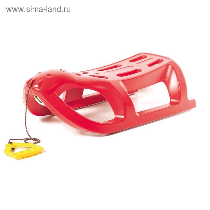 Санки Prosperplast SEA LION red, красный