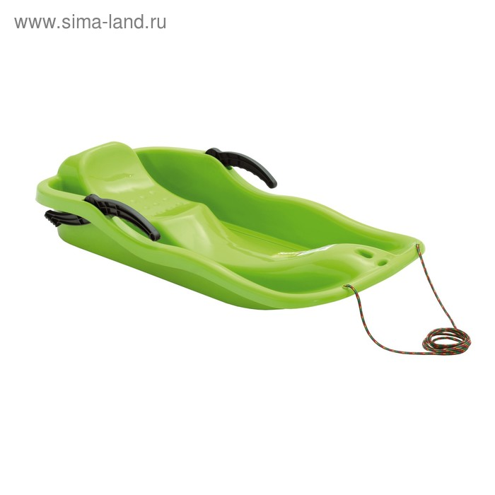 Санки Prosperplast RACE green, зелёный