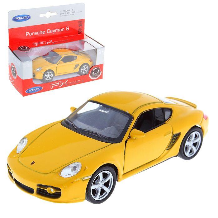 "Машина ""Porsche Cayman"" 1:34 - 39, цвета МИКС"