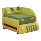 Детский диван «Кенгуру 3», левый угол, механизм выкатной, цвет зелёный