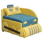 Детский диван «Кенгуру 3», левый угол, механизм выкатной, цвет бирюзовый/жёлтый