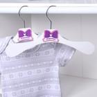 Вешалка-плечики детская, размер 30-34 «Модница»