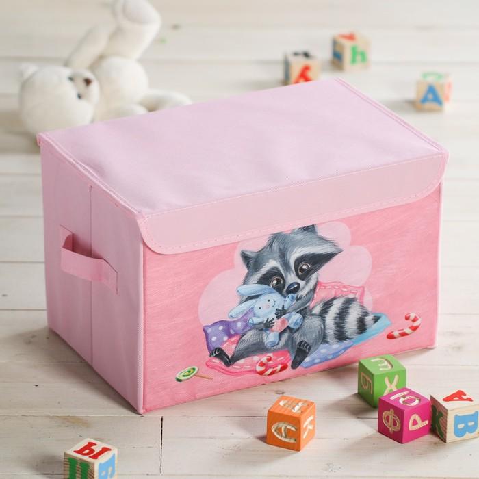 """Короб для игрушек """"Енотик"""", 37х24х24 см"""