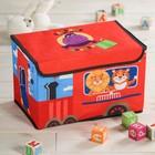 """Короб для игрушек """"Веселые друзья"""", 37х24х24 см"""