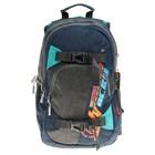 Рюкзак Across AC18-ER 40*30*15 синий/голубой